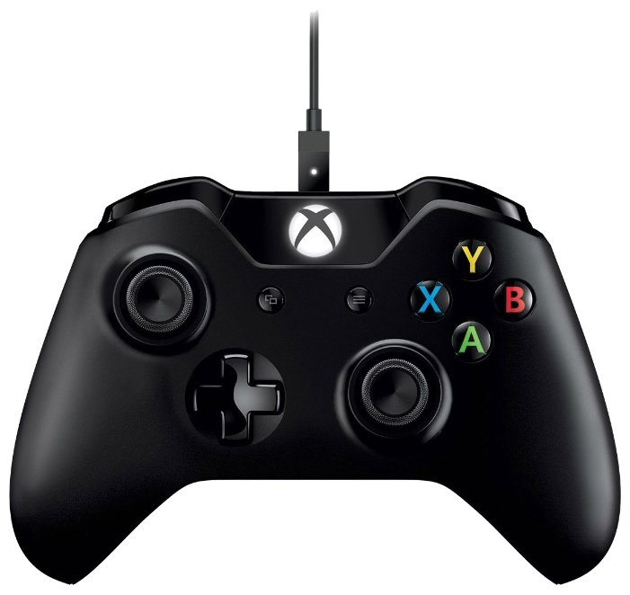 Геймпад Microsoft Xbox One Wireless Controller + Cable for Windows 10