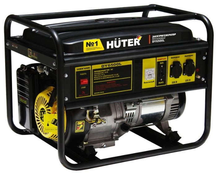 Бензиновая электростанция Huter DY6500L