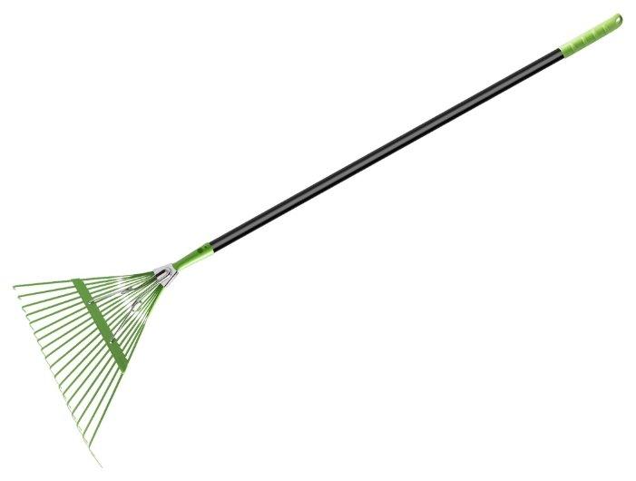 Грабли веерные Центроинструмент 0502 с компенсатором (154 см)