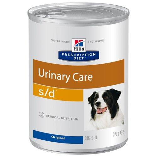 Влажный корм для собак Hill's Prescription Diet при мочекаменной болезни 370г