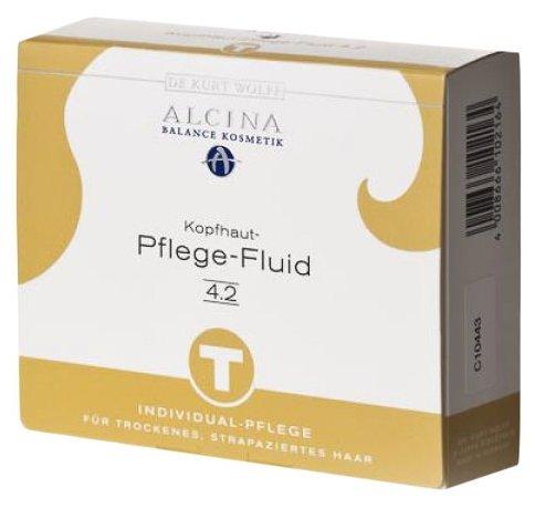 ALCINA БИОГИДРАТАЦИЯ ВОЛОС Флюид 4.2 для сухой кожи головы