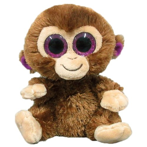 Мягкая игрушка Yangzhou Kingstone Toys Обезьянка коричневая 15 см