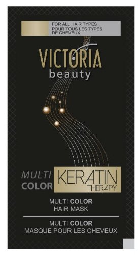 Victoria Beauty MULTI COLOR Keratin Therapy Маска для волос