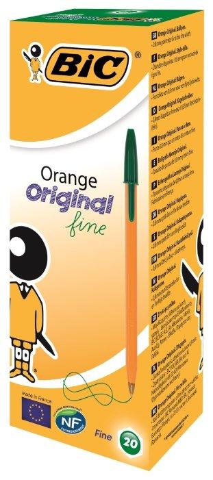 BIC Набор шариковых ручек Orange Original fine, 0.3 мм (1199110113/8099241/8099221/8099231)