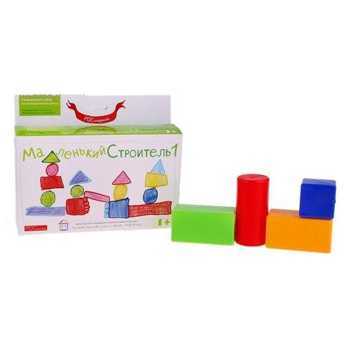 Кубики Росигрушка Маленький строитель 2101