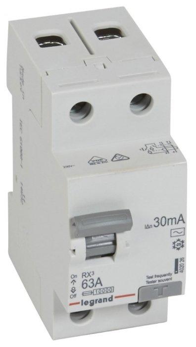 УЗО Legrand 30мА тип AC RX3 402026 2 полюса