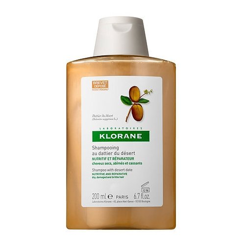 Klorane шампунь Nutri-Reparative with Desert Date 200 мл klorane шампунь oil control shampoo with nettle 200 мл