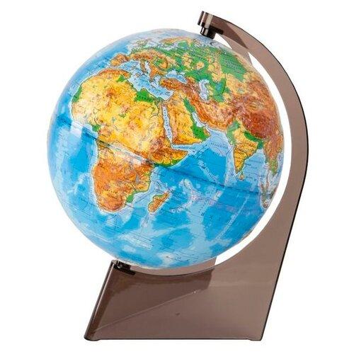 Фото - Глобус физический Глобусный мир 210 мм (10275) коричневый глобус физический глобусный мир 250 мм 10160 бирюзовый