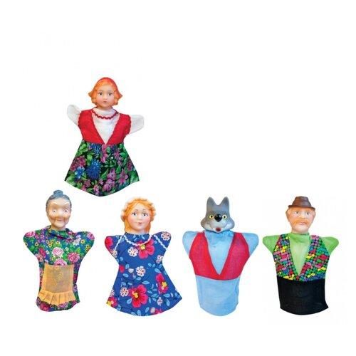 Русский стиль Кукольный театр Красная шапочка, 11065 aha набор создай свой театр красная шапочка