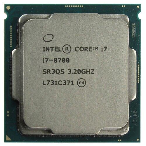 Процессор Intel Core i7-8700, OEM
