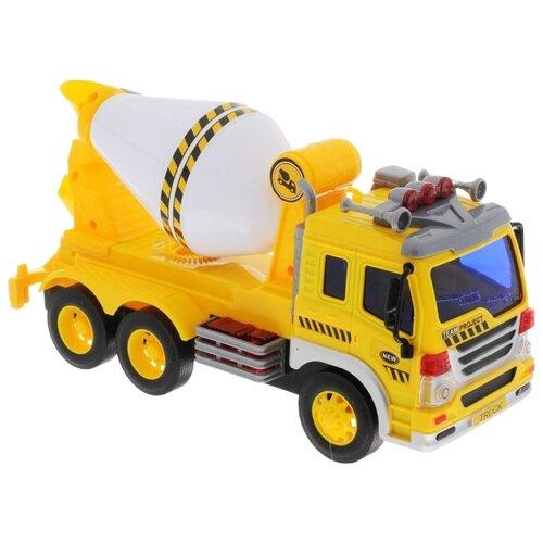 Бетономешалка Dave Toy Junior Trucker (33023) 1:16 28.5 см желтый/белый dave lemay quest for freedom