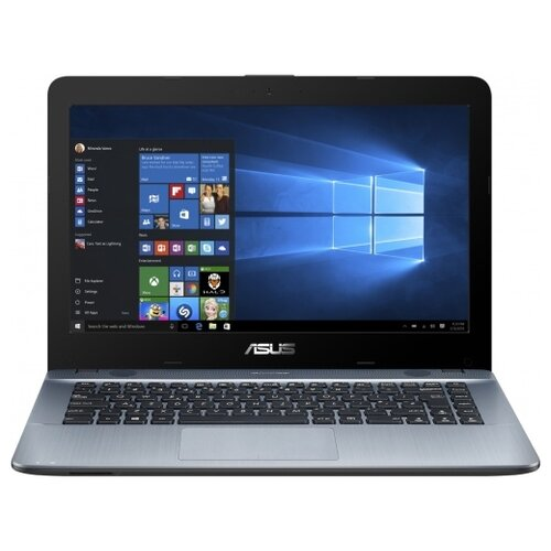 Купить Ноутбук ASUS VivoBook S15 S510UN (Intel Core i3 7100U 2400 MHz/15.6 /1920x1080/6GB/1000GB HDD/DVD нет/NVIDIA GeForce MX150/Wi-Fi/Bluetooth/Windows 10 Home) серый