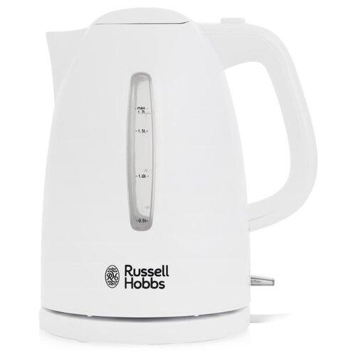 цена на Чайник Russell Hobbs 21270-70, белый