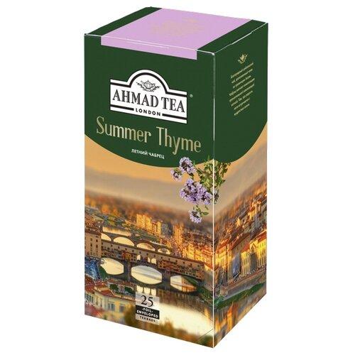 Чай черный Ahmad tea Summer thyme в пакетиках, 25 шт.