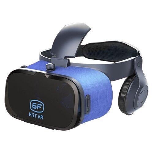 Очки виртуальной реальности для смартфона FIIT VR 6F черно-синий