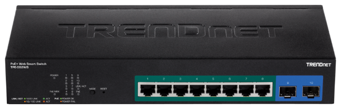 TRENDnet Коммутатор TRENDnet TPE-082WS
