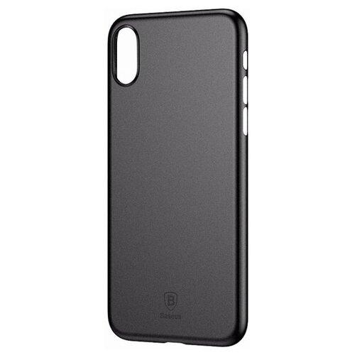 Чехол Baseus Wing Case для для Apple iPhone X черныйЧехлы<br>