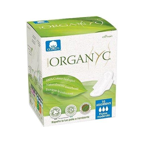 Купить Organyc прокладки Normal, 3 капли, 10 шт.