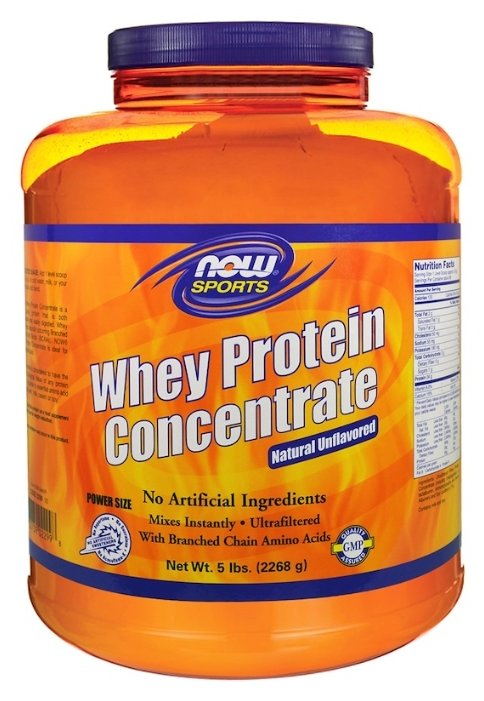 Протеин NOW Whey Protein Concentrate (2268 г)