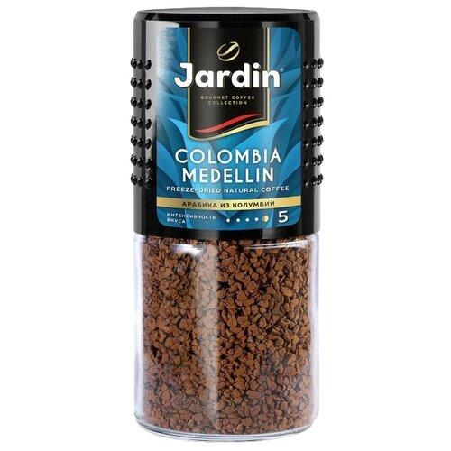 Кофе растворимый Jardin Colombia Medellin, стеклянная банка, 95 г