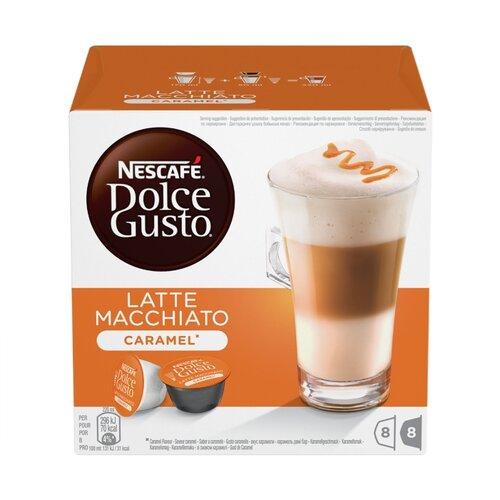 Кофе в капсулах Nescafe Dolce Gusto Latte Macchiato Caramel (16 капс.)Капсулы для кофемашин<br>