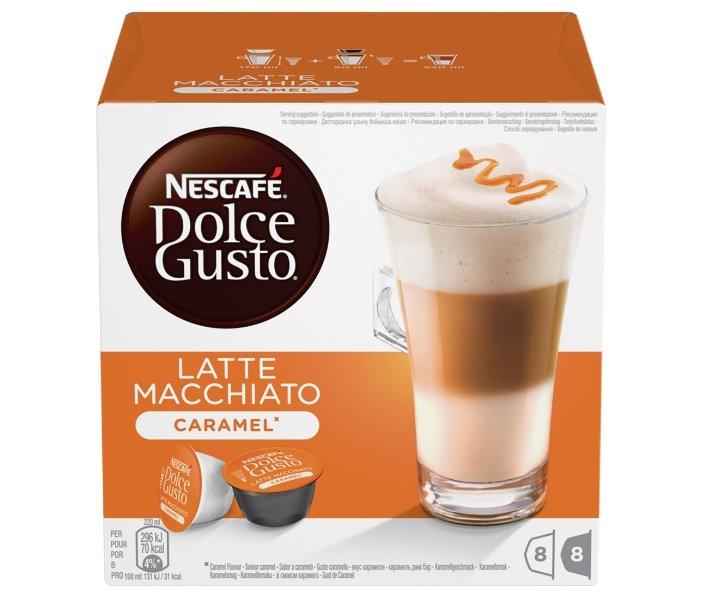 Кофе в капсулах Nescafe Dolce Gusto Latte Macchiato Caramel (16 шт.)