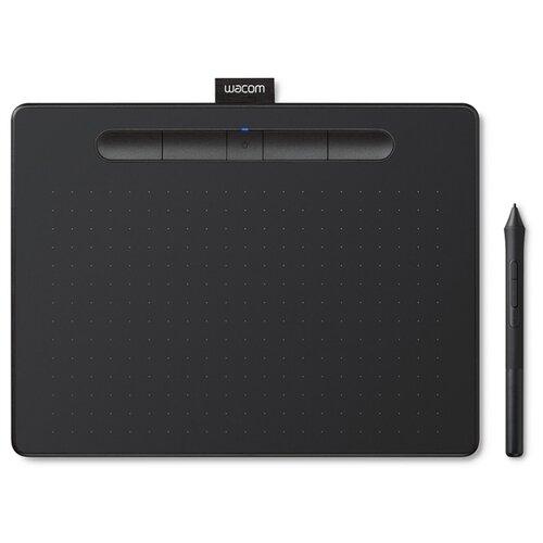 Графический планшет WACOM Intuos S Bluetooth (CTL-4100WLK-N/CTL-4100WLE-N) черный