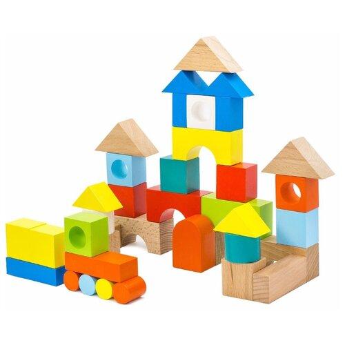 Кубики Alatoys Радужный замок К4510Детские кубики<br>