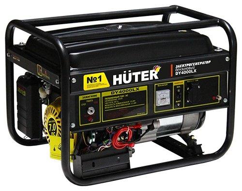 Бензиновый генератор Huter DY4000LX (3000 Вт)