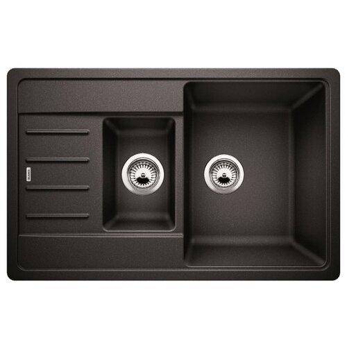 Купить со скидкой Врезная кухонная мойка 78 см Blanco Legra 6S Compact 521302 антрацит