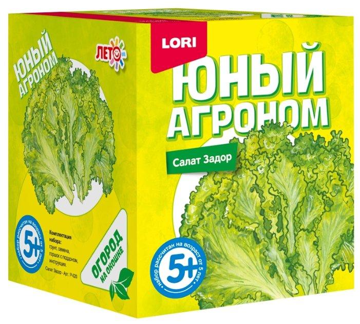 Набор для выращивания LORI Юный агроном. Салат Задор Р-020