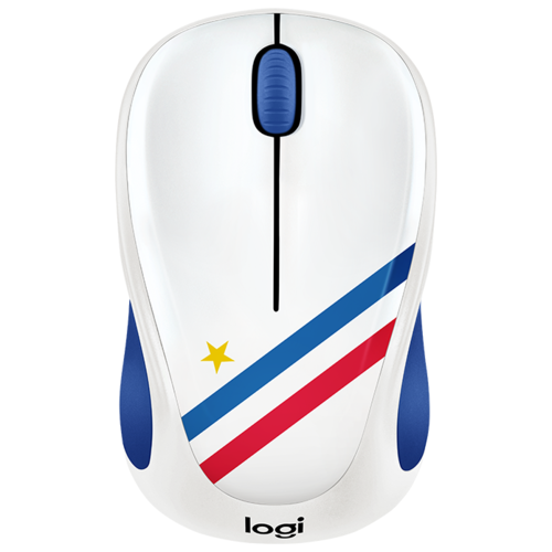 Беспроводная мышь Logitech M238 Fan Collection Wireless Mice France White-Blue USB logitech m238 fan collection argentina