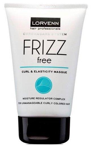 LORVENN Frizz Free Curl & Elasticity Masque Маска интенсивного увлажнения для непослушных, вьющихся и окрашенных волос