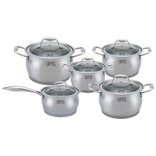 Набор посуды GiPFEL CANTATA 1538 10 пр.Наборы посуды для готовки<br>