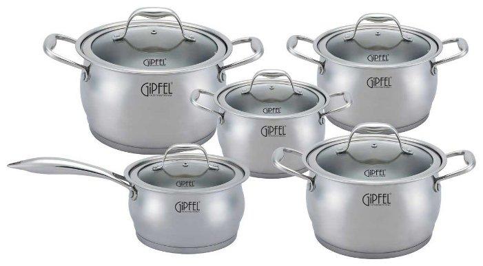 Набор посуды GiPFEL CANTATA 1538 10 пр.