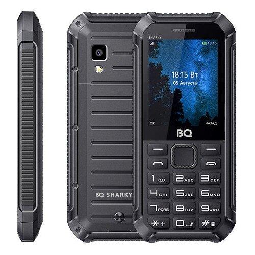 Телефон BQ 2434 Sharky черныйМобильные телефоны<br>