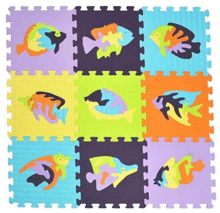 Коврик-пазл MD Мозаика с Рыбами (MTP-33109)