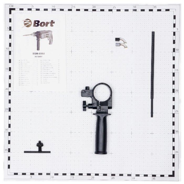 Дрель ударная Bort BSM-650U 650 Вт