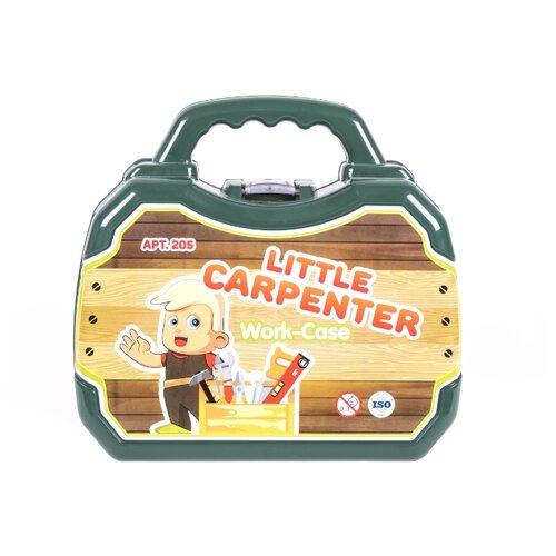 Купить Orion Toys Набор Столяра в чемодане 205, Детские наборы инструментов