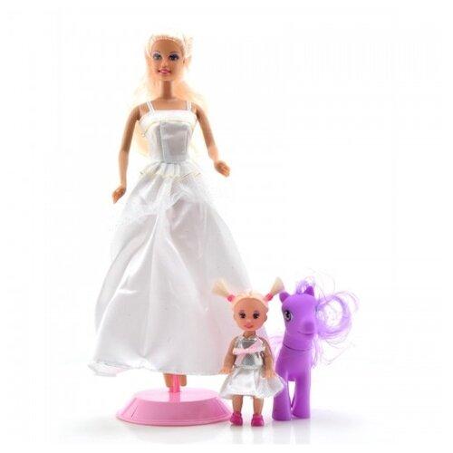 Кукла Defa Lucy Принцесса с дочкой, 8077