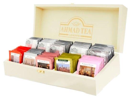 Чай Ahmad tea Contemporary ассорти подарочный набор в пакетиках, 100 шт.