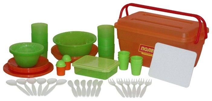 Набор посуды Полесье для пикника №3 на 6 персон 52124