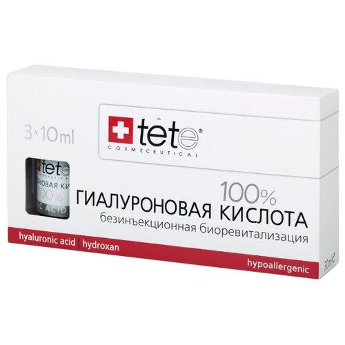 TETe Cosmeceutical Hyaluronic Acid 100% средство для лица Гиалуроновая кислота 100%, 10 мл (3 шт.) комплект ковриков tete a tete tete a tete mp002xu02nsy