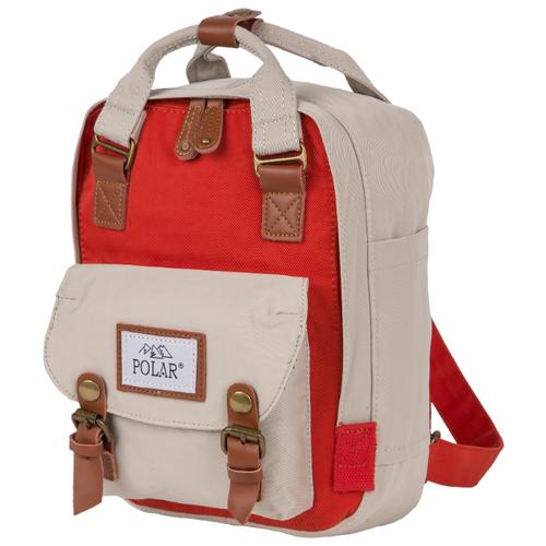 Рюкзак POLAR 17206 5 серый/красный (серый)Рюкзаки<br>