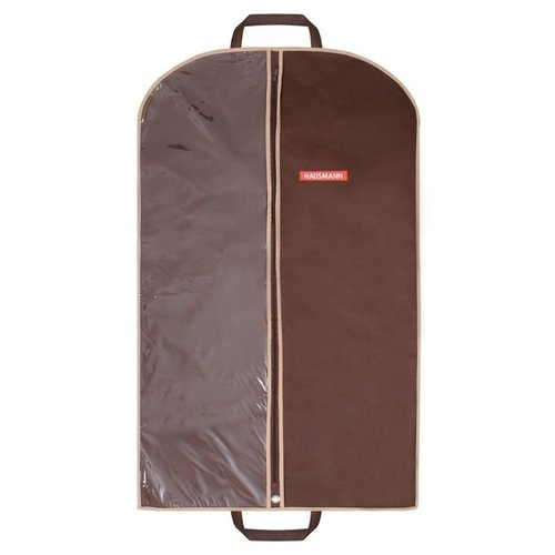 HAUSMANN Чехол для одежды HM-701002 100x60 см коричневый
