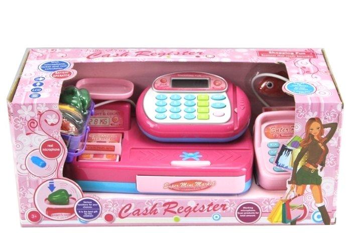 Касса Shantou Gepai со сканером и набором продуктов (Y360822)
