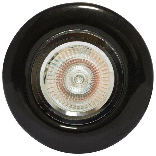 Встраиваемый светильник De Fran FT 820 Bc, черный fran parker deadly triangle