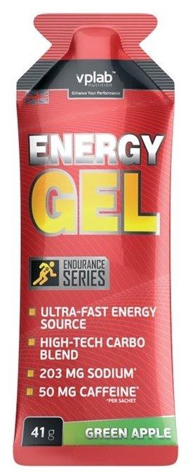 Предтренировочный комплекс VP Laboratory Energy Gel + caffeine (41 г)