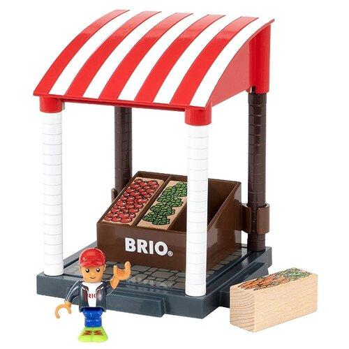 Игровой набор Brio Магазинчик овощей 33946 игровой набор brio детская площадка 4 предмета