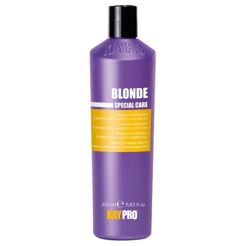 KayPro шампунь Blonde для придания яркости для светлых, обесцвеченных и мелированных волос, 350 мл kaypro шампунь liss для разглаживания вьющихся волос 350 мл